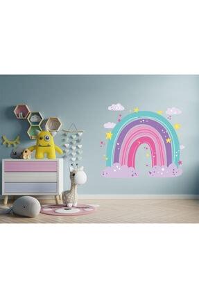 AND Sticker Renkli Gökkuşağı 2 Dekoratif Çok Amaçlı Çocuk Odası Duvar Sticker 2