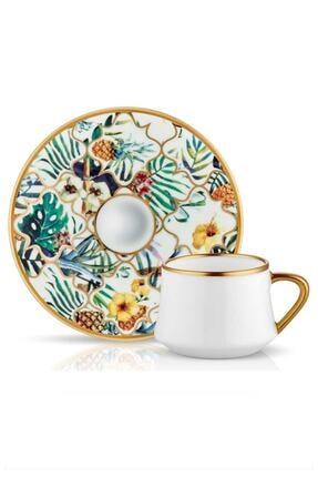 Koleksiyon Ev ve Mobilya Koleksiyon Sufi Amazon Brasil Türk Kahvesi Seti 6'lı 0