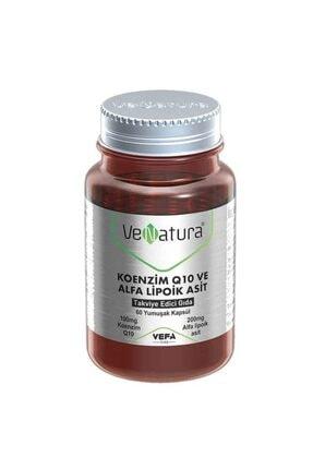 Venatura Koenzim Q10 Ve Alfa Lipoik Asit 60 Kapsül 0