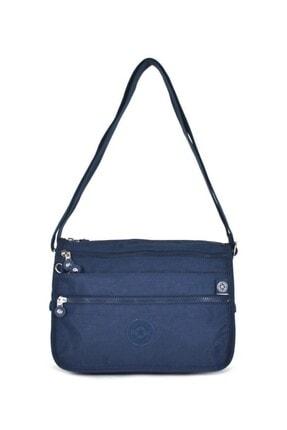 Smart Bags Smb1128-0033 Lacivert Kadın Çapraz Çanta 0