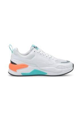 Puma X-RAY 2 SQUARE Beyaz Kadın Sneaker Ayakkabı 101085358 4