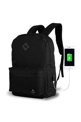 My Valice Smart Bag Specta Usb Şarj Girişli Akıllı Sırt Çantası Siyah 0