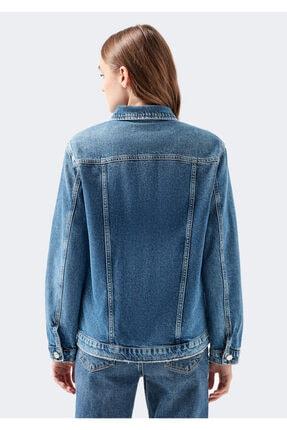 Mavi Kadın Karla Gold Icon  Jean Ceket 110154-30868 3