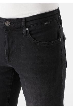 Mavi Erkek Marcus  Black Zımparalı Siyah Jean Pantolon 0035133159 4