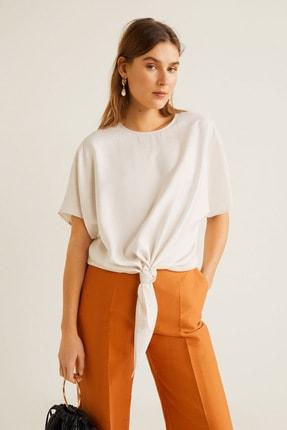 Mango Kadın Kırık Beyaz Bluz 43057029 1