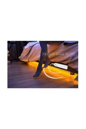 Taled Hareket Sensörlü Şerit Led-yatak Altı Dolap Içi Aydınlatma 1 Metr 1