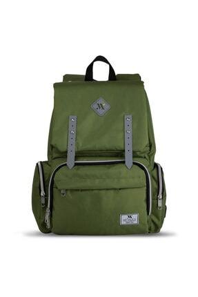 My Valice Smart Bag Mother Star Usb'li Anne Bebek Bakım ve Sırt Çantası Yeşil 1