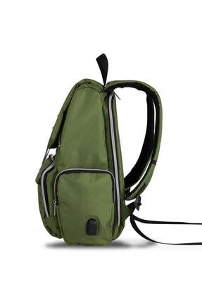 My Valice Smart Bag Mother Star Usb'li Anne Bebek Bakım ve Sırt Çantası Yeşil 2