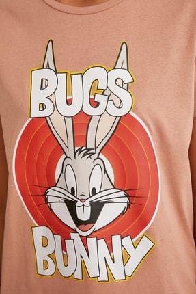 TRENDYOLMİLLA Turuncu Örme T-Shirt TWOSS21TS0565 3
