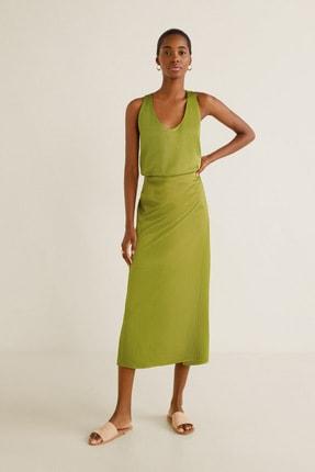 Mango Kadın Parlak Yeşil 41049069 0
