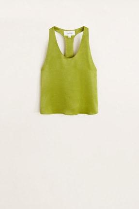 Mango Kadın Parlak Yeşil 41049069 2