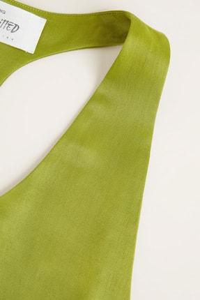 Mango Kadın Parlak Yeşil 41049069 4