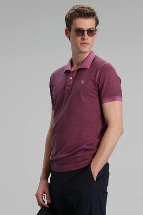 Lufian Vernon Spor Polo T- Shirt Mürdüm 1