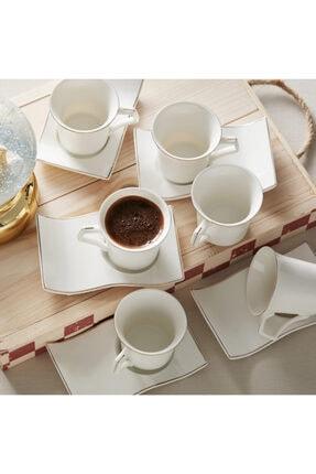 Karaca Laura 6 Kişilik Kahve Fincan Takımı 0