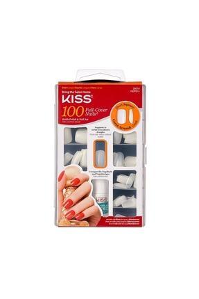 Kiss Renksiz Takma Tırnak Seti Ypıştırıcılı 100'lü Paket - 100ps14c - 731509200195 0