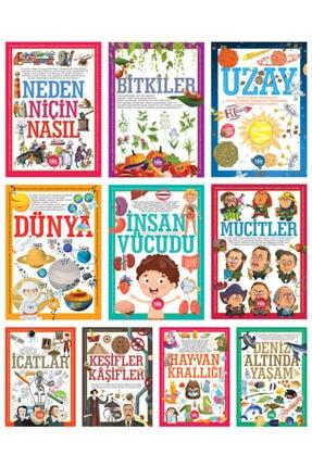 Halk Kitabevi İlk Bilgilerim Kütüphanesi Seti 10 Kitap Takım 0