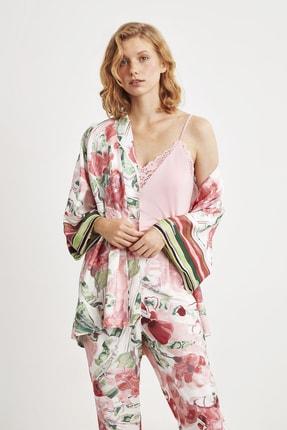 Penye Mood 9019 Üçlü Pijama Takım 2