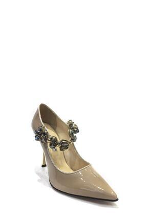 Flower Hakiki Deri Klasik Topuklu Ayakkabı Flw19y-a9068 0