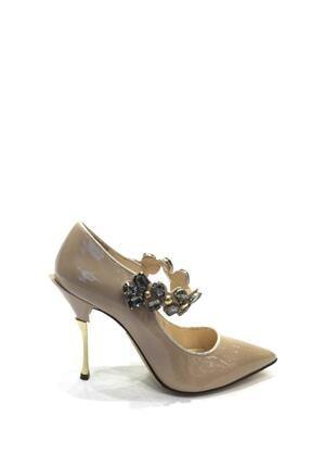 Flower Hakiki Deri Klasik Topuklu Ayakkabı Flw19y-a9068 1