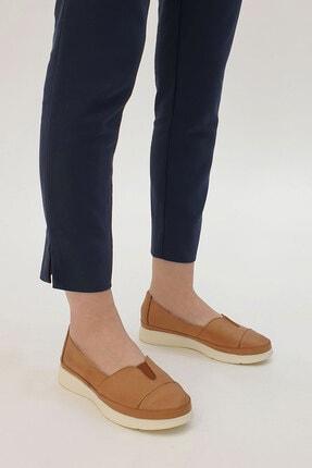 Marjin Meyza Kadın Hakiki Deri Comfort Ayakkabıtaba 1