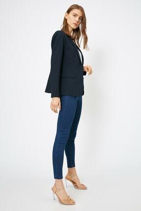 Koton Kadın Mavi Pantolon 0yak47642dd 0