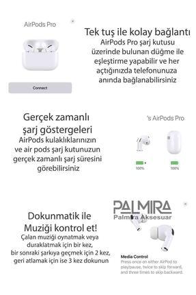 Palmira Aksesuar Iphone Uyumlu  Pro Super Clone Kulaklık En Iyi Kalite 1