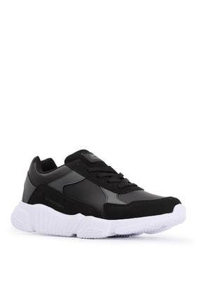 Slazenger INDIANA Sneaker Kadın Ayakkabı Siyah / Beyaz SA20RK069 1