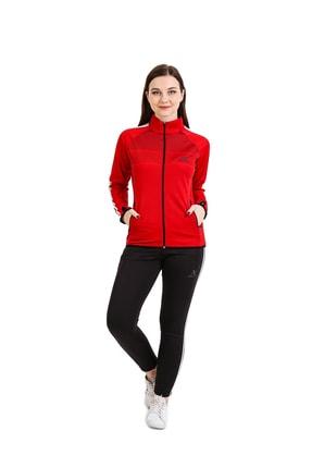 Kadın Kırmızı Dalgıç Eşofman Takımı 2853
