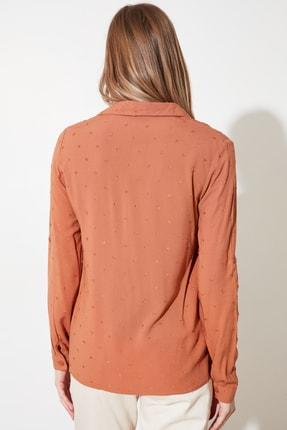 TRENDYOLMİLLA Tarçın Basic Gömlek TWOSS20GO0241 4