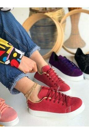 Vans Nubuk Spor Ayakkabı - Pembe SPR0031