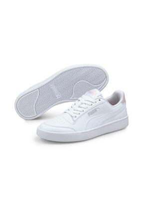 Puma SHUFFLE JR Beyaz Erkek Çocuk Sneaker Ayakkabı 101085497 0