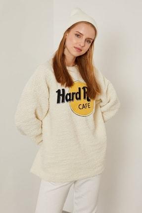 Arma Life Hard Rock Nakışlı Peluş Sweatshirt 2
