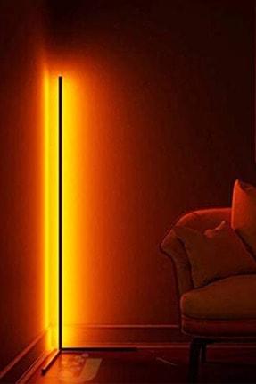 thorqtech Alfonso Metal Dekoratif Minimalist Led Lambader 150x30cm Animasyonlu Kumandalı Renkli Köşe Lambası 2
