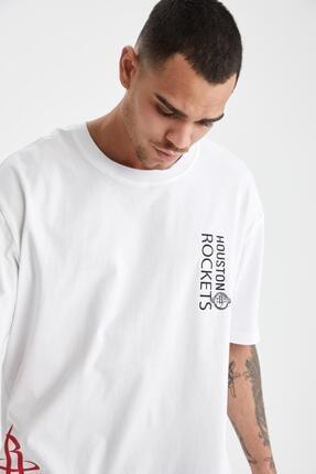 Defacto Oversize Fit Nba Lisanslı Tişört 2