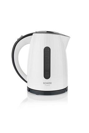 Schafer Beyaz Fluent 2200w Elektrikli Su Isıtıcı Kettle 0