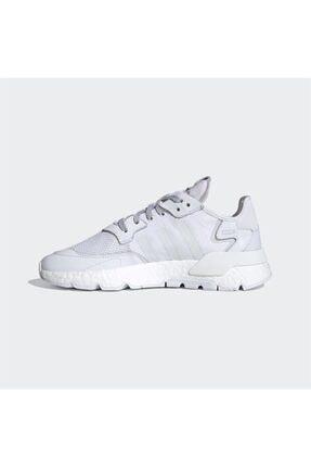 adidas Erkek Beyaz Nite Jogger Günlük Spor Ayakkabı 1