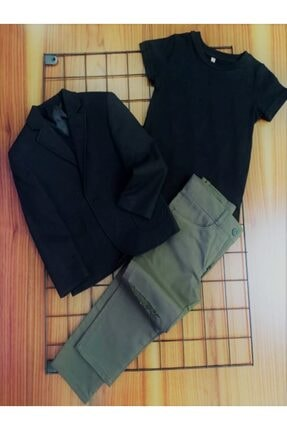 Erkek Cocuk Takim Elbise Blazer01