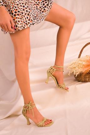 Soho Exclusive Yeşil Kadın Klasik Topuklu Ayakkabı 16195 3