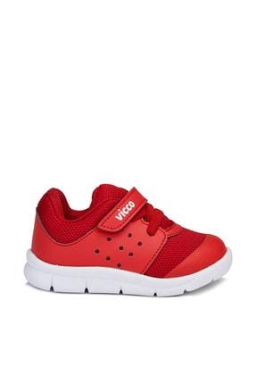 Vicco Mario Unisex Bebe Kırmızı Spor Ayakkabı 2