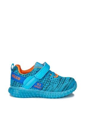 Vicco Alfa Erkek Bebe Mavi Spor Ayakkabı 2