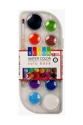Südor 12li Şeffaf Plastik Sulu Boya (sc01) 0