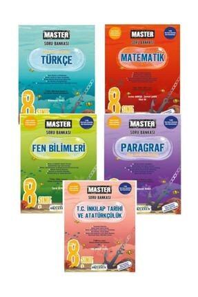 Okyanus Yayınları 8. Sınıf Lgs Yeni Baskı Set 5 Kitap Master 0