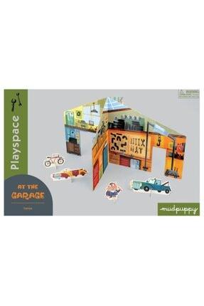 Mudpuppy , 3 Boyutlu Çocuk Oyun Maketi, Garaj In The Garage 4 Yaş Üstü 0