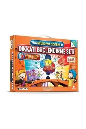 Adeda Yayınları Osman Abalı 6 Yaş Dikkati Güçlendirme Seti Dgs 0