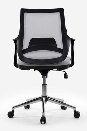 Seduna Skagen Metal Ayaklı Çalışma Koltuğu Ofis Sandalyesi 4