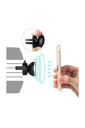Universal Mıknatıslı (ızgara) Gold Araç Içi Telefon Tutucu 3