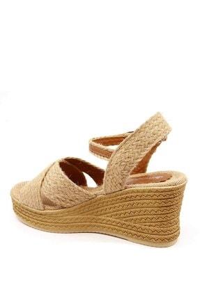 Ccway Kadın Hasır Sandalet 3