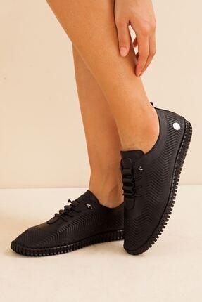 Mammamia Kadın Hakiki Deri Siyah Ayakkabı • A212ydyl0021 3