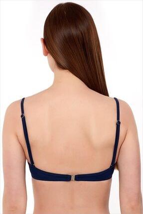 AYYILDIZ Kadın Lacivert Push-Up Bikini Üstü 63545/D2036 1
