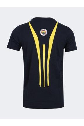 Fenerbahçe Erkek Lacivert Mohıkan Tshırt 1